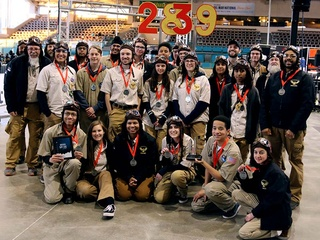 ECHS Robotics Team Heads to the World Championship in Houston